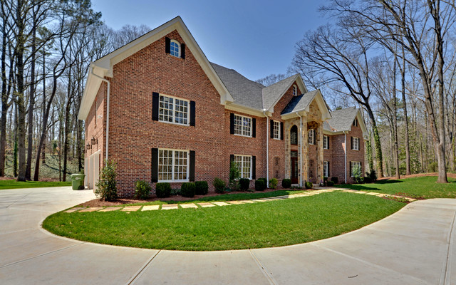 Atlanta Georgia Custom Homes Traditional Exterior