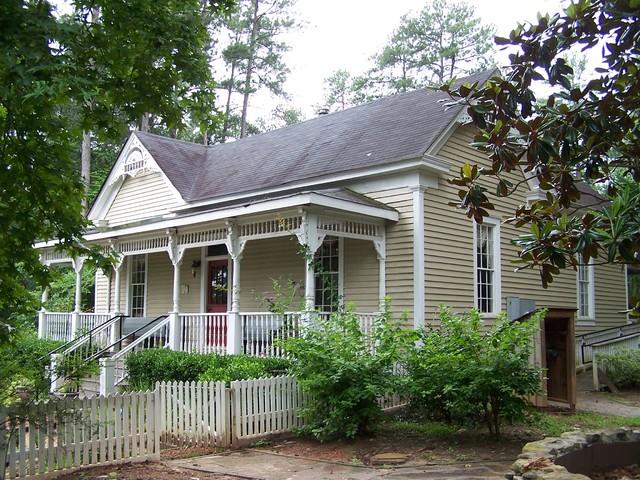 Autry Mill Renovation farmhouse-exterior