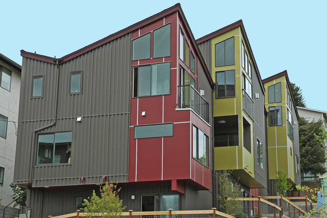 Avalon Townhomes: West Seattle contemporary-exterior