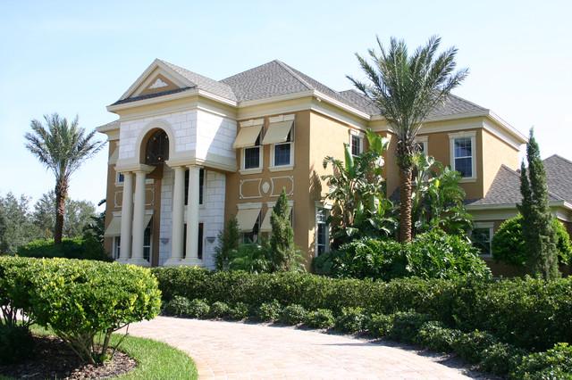 Avila Spec Homes - Michael C. Mobley Homes mediterranean-exterior