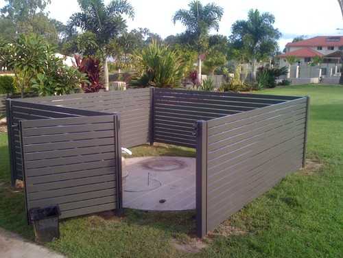 Garden Ideas To Hide A Wall i'd love ideas for hiding our big ugly concrete water tank cover