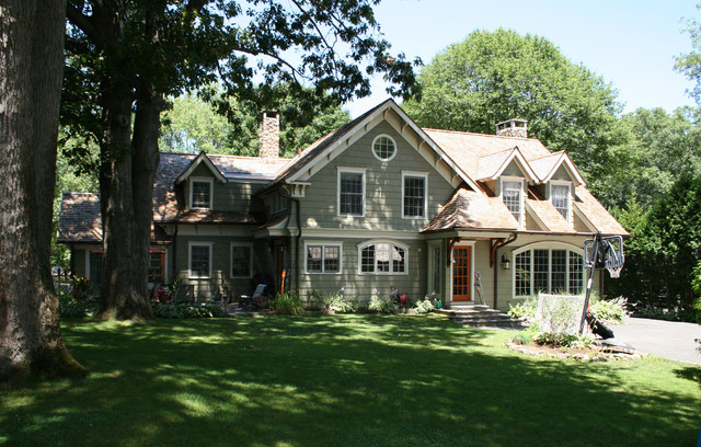 award winning cape cod renovated into craftsman style home craftsman exterior - Cape Cod Craftsman