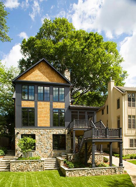 award winning custom new home contemporary exterior superior property management inc free home design ideas