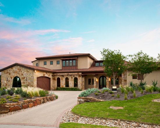 Tuscan style home exterior design ideas pictures remodel for Tuscan exterior design