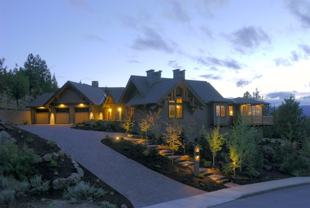 Awbrey butte bend oregon traditional exterior other for Home designers bend oregon