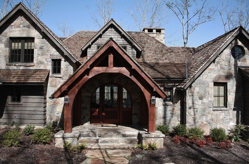 What Color Stain Did You Use On The Entry Cedar Beams