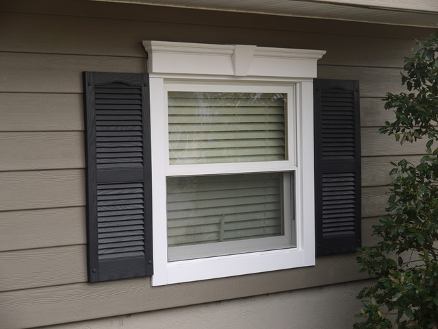 Azek Trim Detail Traditional Exterior Other By American Home Contractors