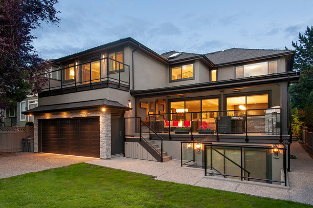 Back Exterior Of Home - Contemporary - Exterior - Vancouver - by My ...