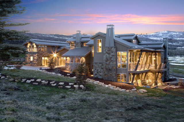 Mountain Contemporary contemporary exterior