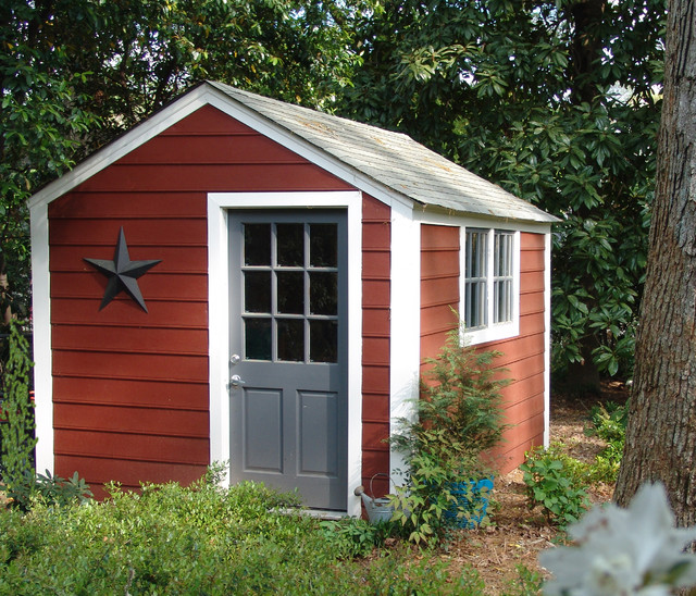 Backyard Shed traditional-exterior