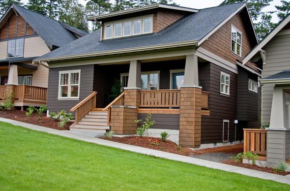 Bainbridge Home Craftsman Exterior Seattle By