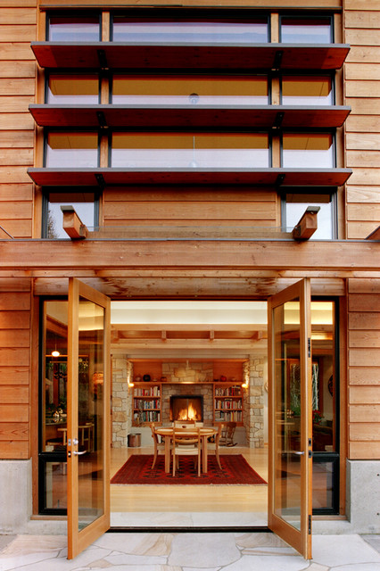 Bainbridge Island Residence - Bainbridge Island, WA « DAVID VANDERVORT ARCHITEC contemporary-exterior