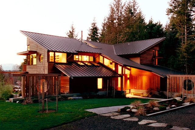 Bainbridge island residence bainbridge island wa for Northwest architects