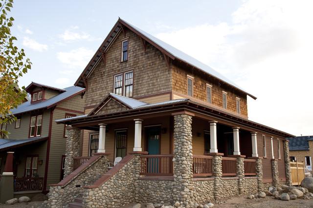 Baird House - Exterior traditional-exterior