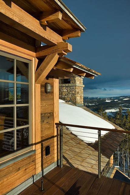 Balcony contemporary-exterior