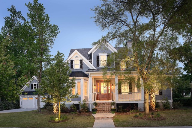 Balfour Drive Daniel Island Sc Traditional Exterior Charleston By Architecture Plus Sc Llc