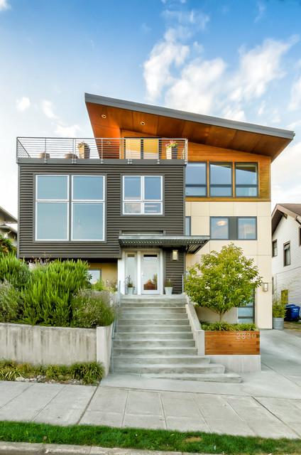Bi Level Deck Home Design Ideas Pictures Remodel And Decor: Ballard Remodel