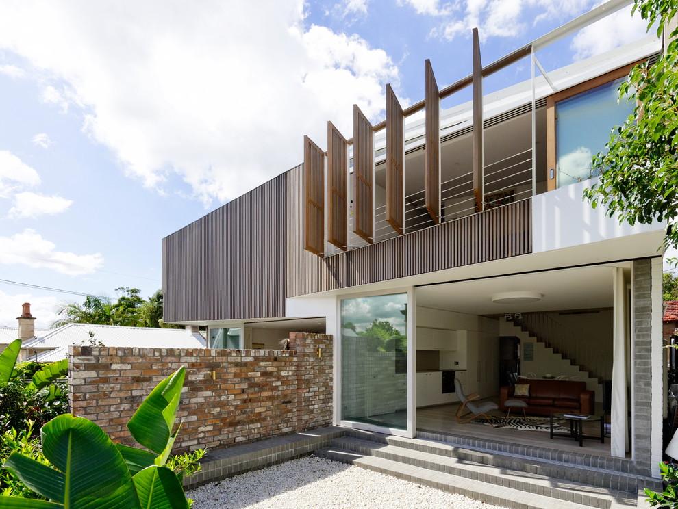 Minimalist exterior home photo in Sydney
