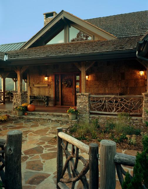 Balsam Mountain Rustic Elegance Rustic Exterior
