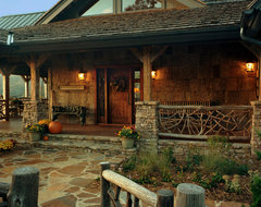 Balsam Mountain Rustic Elegance traditional exterior