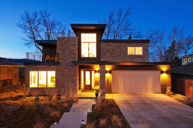 Balsam House Contemporary Exterior Denver By Rodwin Architecture