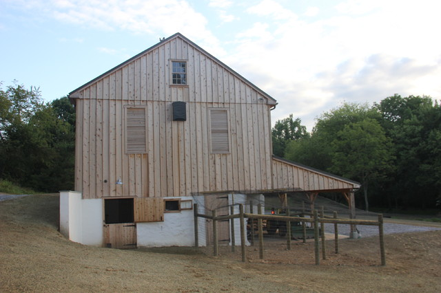 Bank Barn Restoration In Coatesville Pa