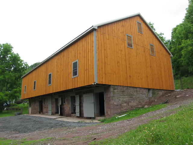 Bank Barn Restoration In Mohnton Pa Farmhouse