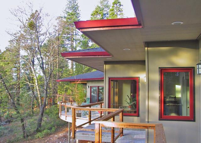 Banner contemporary-exterior