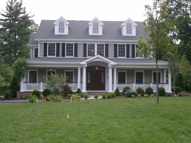 BARBA BUILDERS Front Elevations traditional-exterior