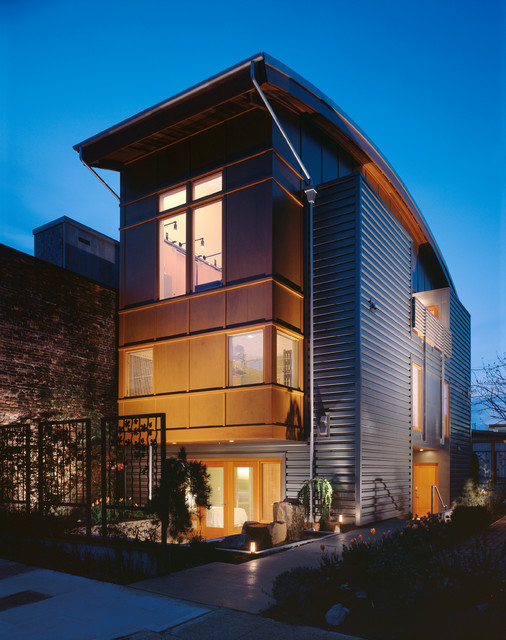 Barclay Court Triplex Modern Exterior Seattle By
