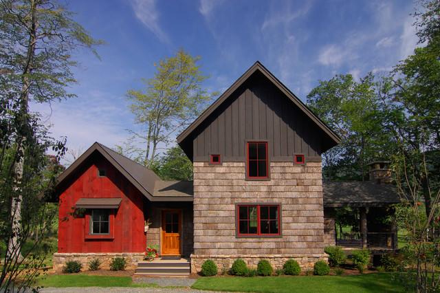 Bark House Shingle Siding And Reclaimed Barnwood