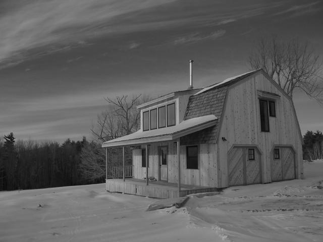 Barn House contemporary-exterior