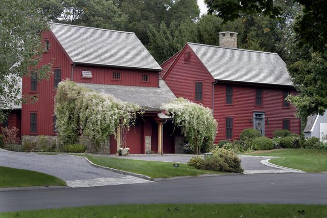 Barn Inspired Renovation Waccabuc NY Farmhouse