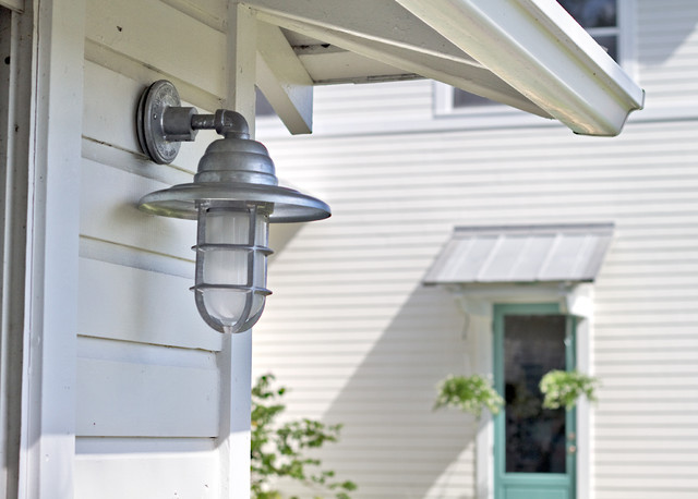 Barn Light Atomic Cast Guard CGU Sconce - Tropical - Exterior ...