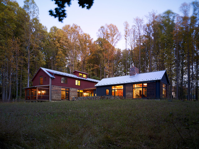 Barn Reconsidered Rustic Exterior Philadelphia By