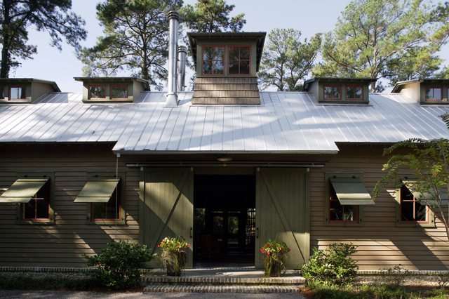 Rustic Exterior by Historical Concepts