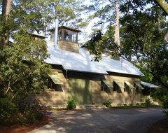 Barn Retreat rustic-exterior