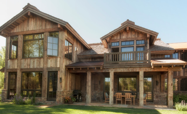 barn wood siding - Rustic - Exterior - Salt Lake City - by Trestlewood