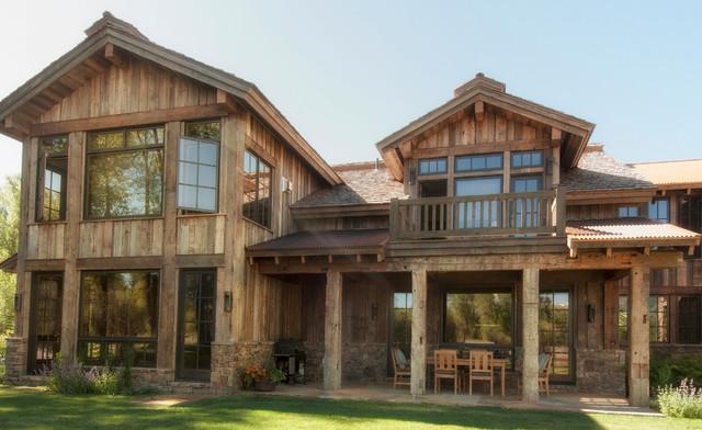 barn wood siding - Rustic - Exterior - Salt Lake City - by ...