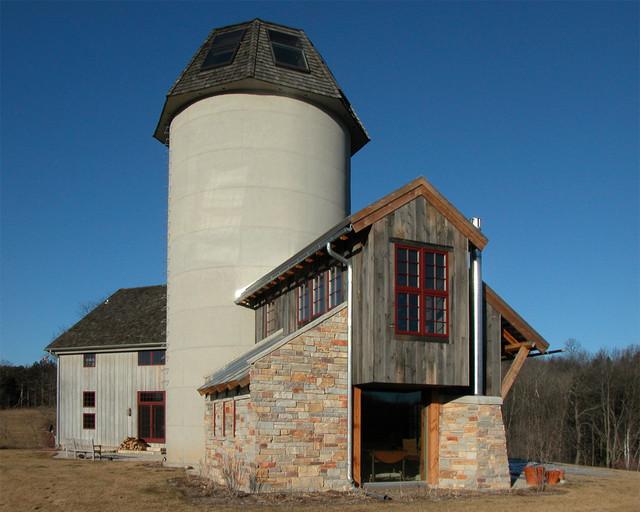 BarnHouse Addition farmhouse-exterior