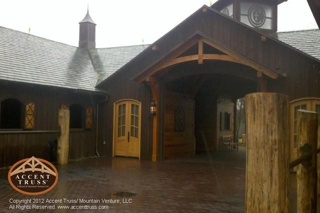 Barns eclectic-exterior