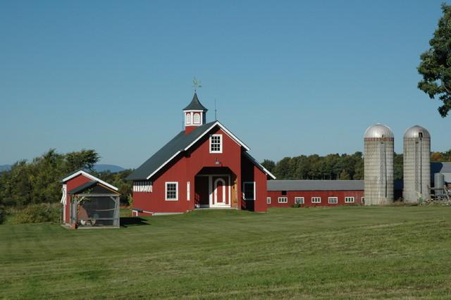 Birdseye Design farmhouse-exterior