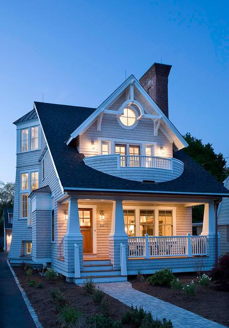 Barrington Cottage - Craftsman - Exterior - boston - by Christopher Hall Architect, Inc.