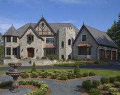 Barrington Manor traditional-exterior