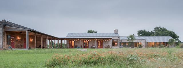 Bastrop Ranch House Farmhouse Exterior Austin By