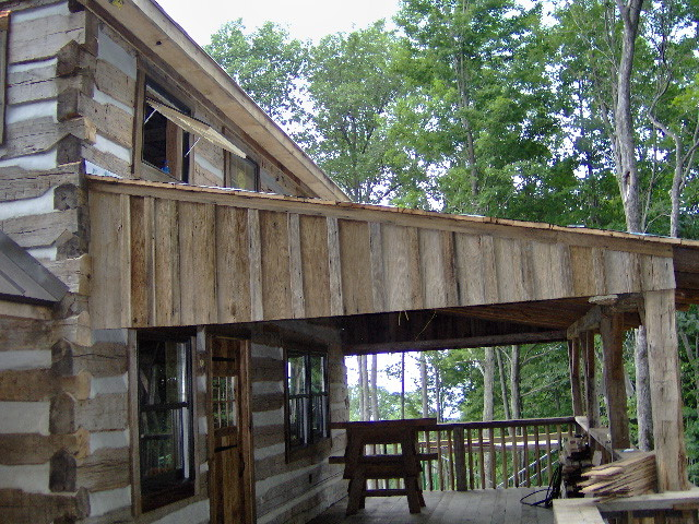 Bath County Cabin traditional-exterior