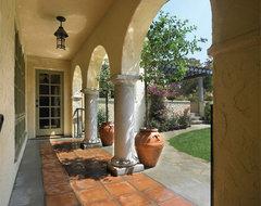 Baughman Avenue Residence mediterranean-exterior