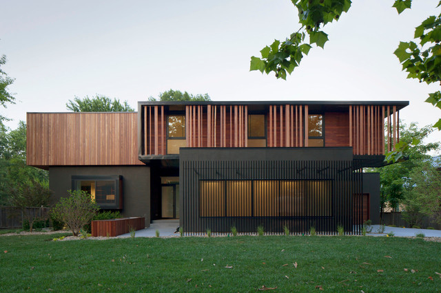 Baulinder haus modern exterior kansas city by for Create modern home decor kansas city
