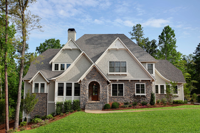 Baxter village fort mill sc traditional exterior for Fort mill sc home builders