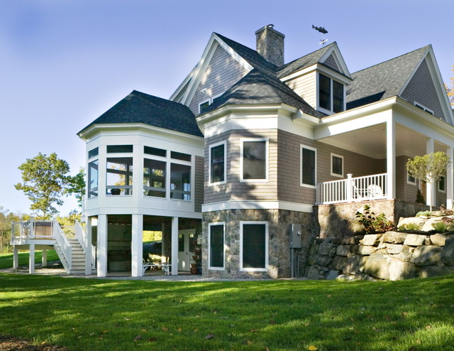 bay road durham nh craftsman exterior by charles On exterior design nh
